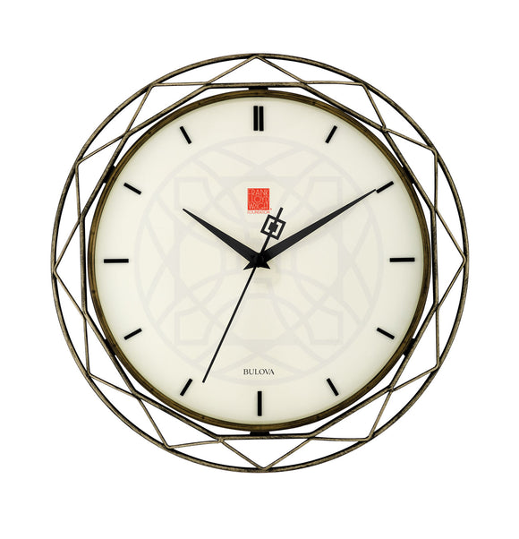 Luxfer Prism Wall Clock