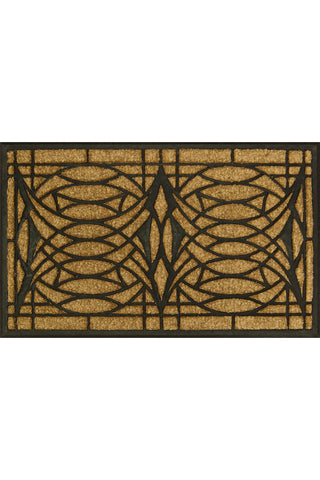 Blossom House Art Glass Doormat