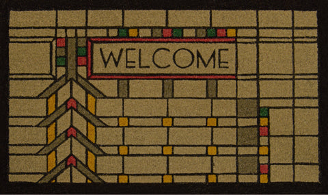Darwin Martin House Welcome Color Doormat