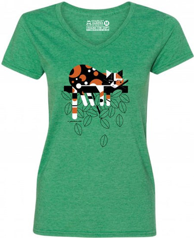 "Charley Harper's ""Limp on a Limb"" Ladies T-Shirt"