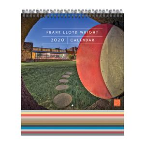 Frank Lloyd Wright 2020 Wall Calendar