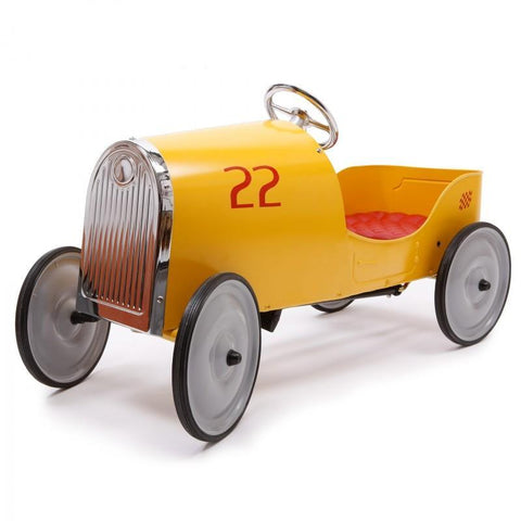Baghera Ride-On Gold Legend Pedal Car