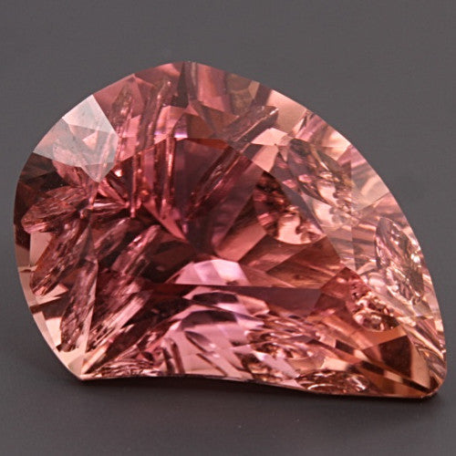 10.54 ct. Pink Tourmaline, Designer Cut, Larry Winn