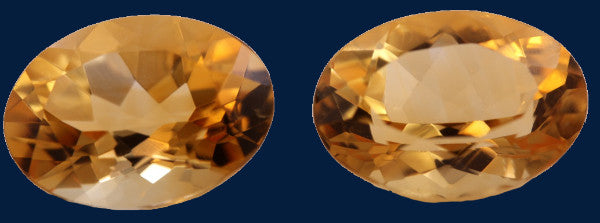 10.94 ct. Citrine (Match Pair)