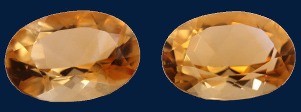 11.02 ct. Citrine (Match Pair)