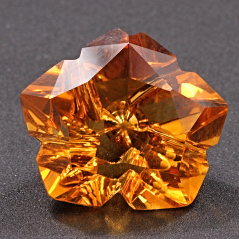 13.92 ct. Citrine, Designer Cut, Larry Winn
