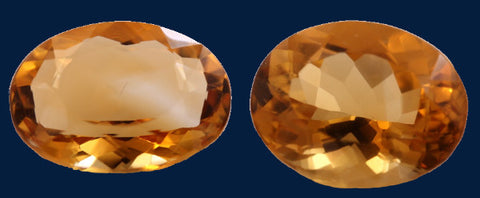 15.18 ct. Citrine (Match Pair)