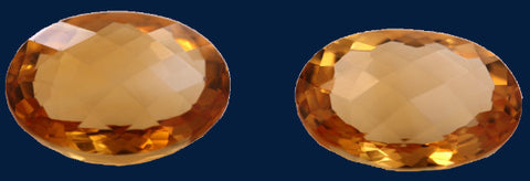 18.14 ct. Citrine (Match Pair)