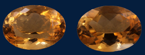 18.30 ct. Citrine (Match Pair)