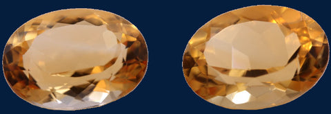 18.68 ct. Citrine (Match Pair)