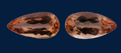 2.0 ct. Imperial Topaz-Match Pair