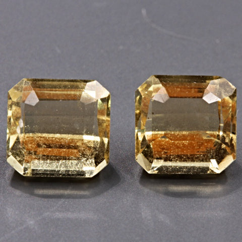 "3.08 ct. Heliodor ""Match Pair"""