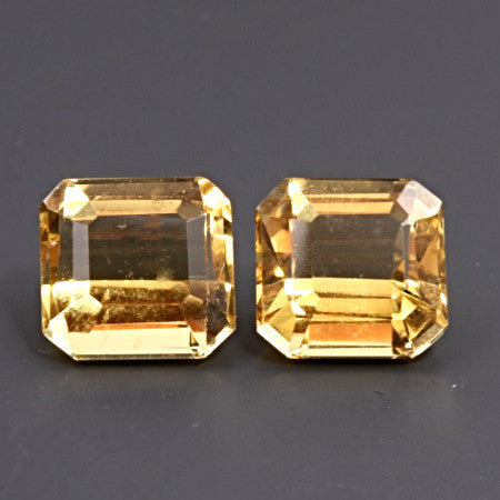 "3.12 ct. Heliodor ""Match Pair"""