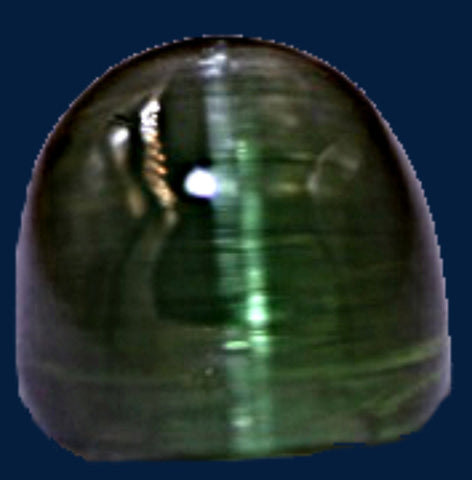 "3.64 ct. Green ""Cats Eye"" Tourmaline"
