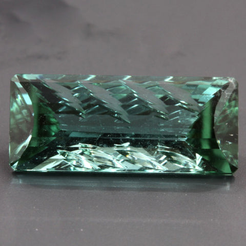 3.71 ct. Green Tourmaline, Designer Cut, Larry Winn