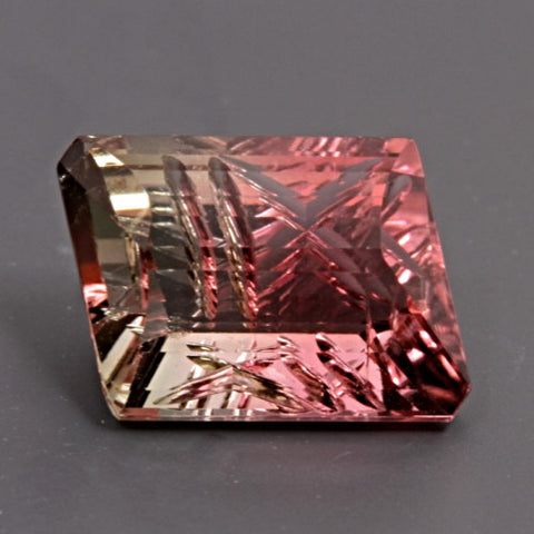 4.55 ct. Tourmaline Bi-Color, Designer Cut