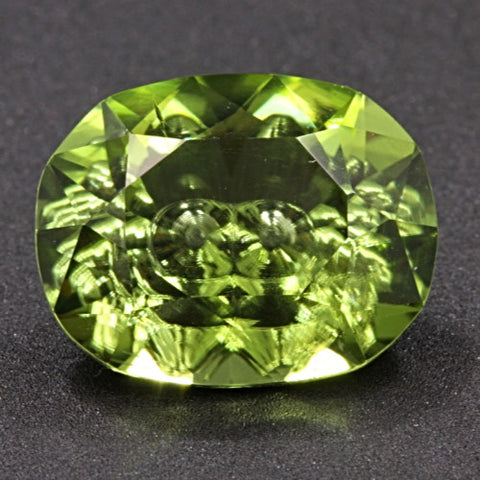 5.24 ct. Peridot, Designer Cut, Larry Winn