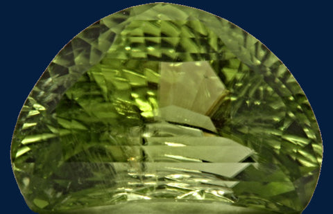 5.54 ct. Peridot, Designer Cut, Larry Winn