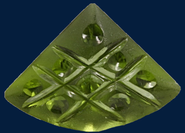 6.14 ct. Peridot, Designer Cut, Larry Winn