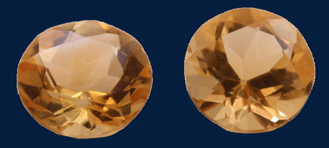 6.19 ct. Citrine (Match Pair)