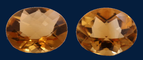 6.36 ct. Citrine (Match Pair)