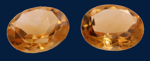 6.46 ct. Citrine (Match Pair)
