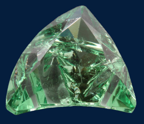 6.92 ct. Green Garnet, Designer Cut