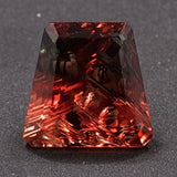 6.97 ct. Orange Sunstone,Designer Cut, Larry Winn