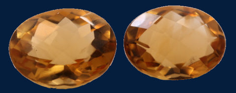 7.35 ct. Citrine (Match Pair)