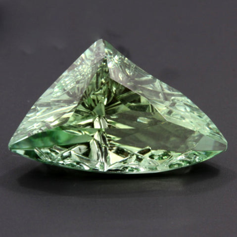 7.64 ct. Green Tourmaline, Designer Cut, Larry Winn