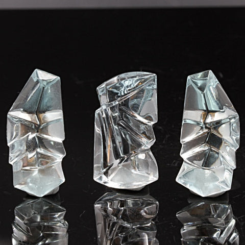 74.88 Carat Aquamarine Set, Designer Cut, Bart Curren