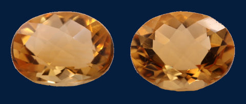 8.86 ct. Citrine (Match Pair)