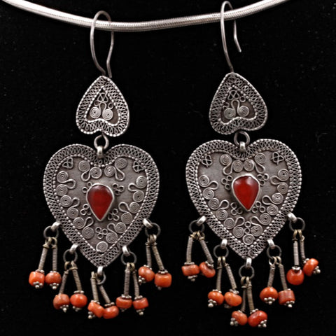 Antique Carnelian Earrings