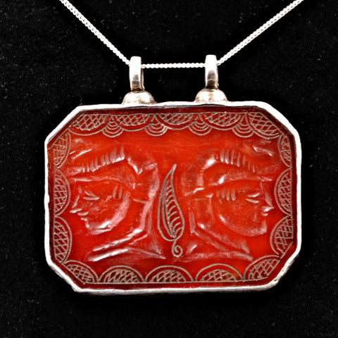 Antique Carnelian Pendant
