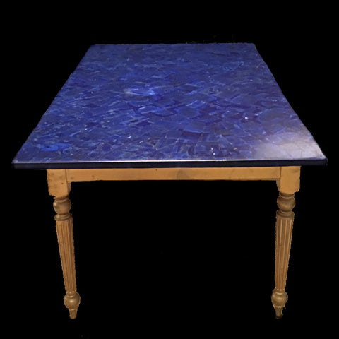 Lapis Lazuli Dining Room Table