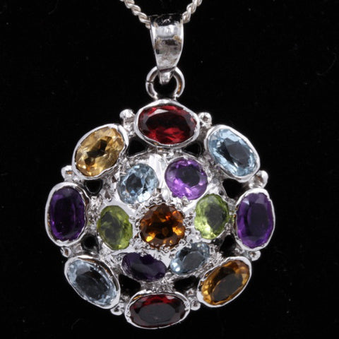Multi-Gem Pendant