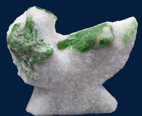 Pargasite in Marble