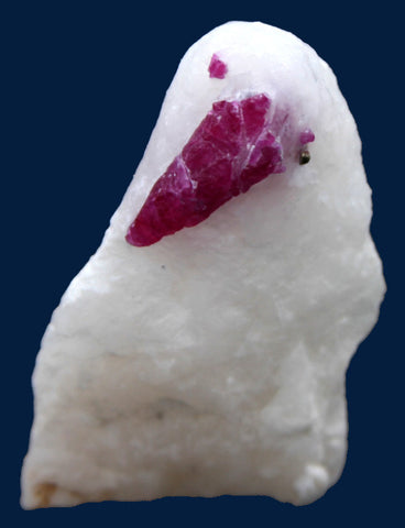 Ruby In Marble Mineral Specimen