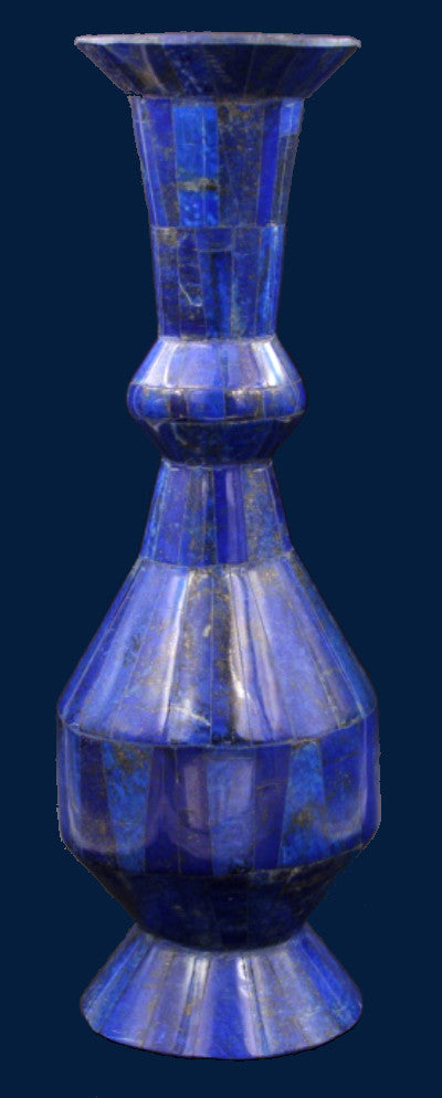 Tall Lapis Lazuli Vase The Gem Hunters