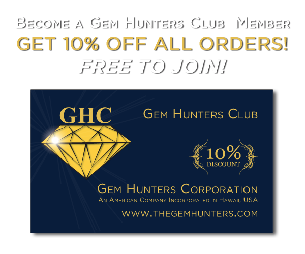 Become a Gem Hunters Club Member