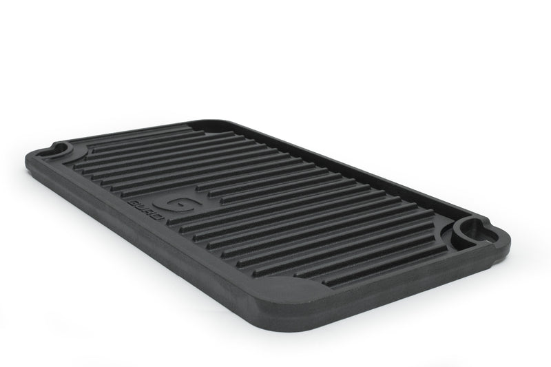 "Pre-Seasoned Double Play Cast Iron Griddle 19.7"" x 10"""