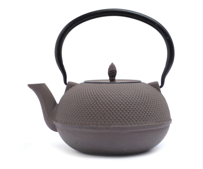 GURO Cast Iron Harmony Teapot 60 Ounce, Grey