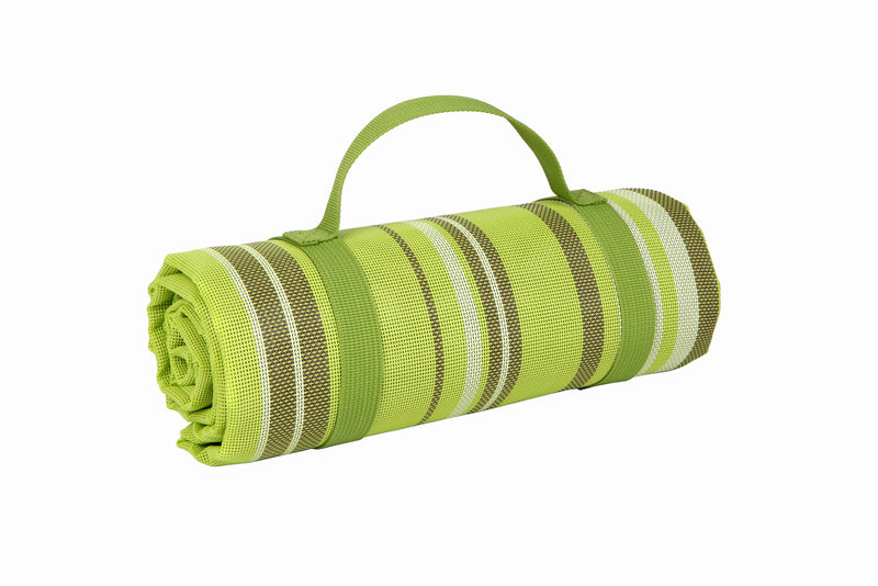 "GURO No-Sand Beach Mat Portable Sand Proof, Green 51""x 63"""
