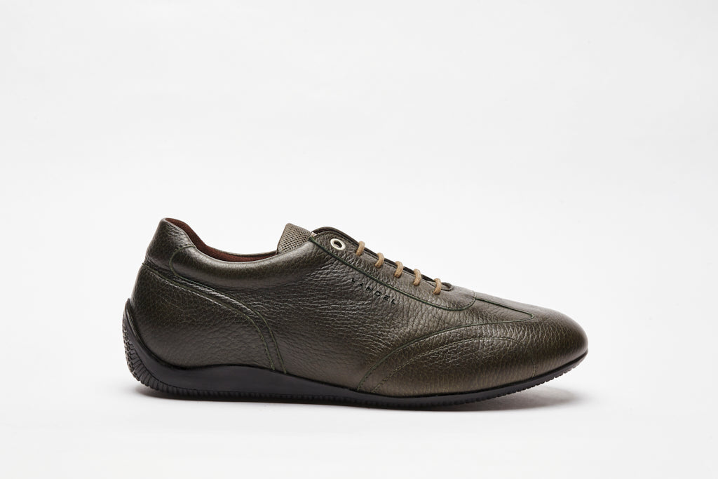Iconic Low - Military Deer Leather - VANDEL