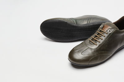 Iconic Low - Military Deer Leather [Ready to ship] - VANDEL