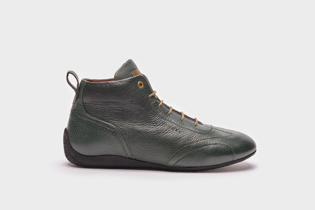 Iconic Medium - Green Deer Leather - VANDEL