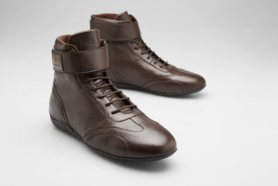 Iconic High - Dark Brown Deer Leather [Ready to ship] - VANDEL
