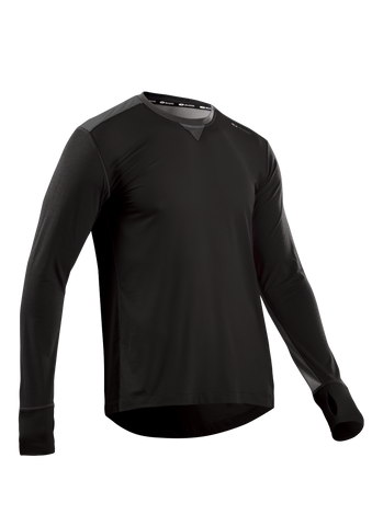 SUGOI Men's Coast Long Sleeve, Black (U601000M)