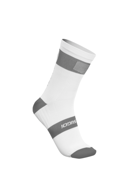 SUGOI RS Crew Sock, White (94948U)