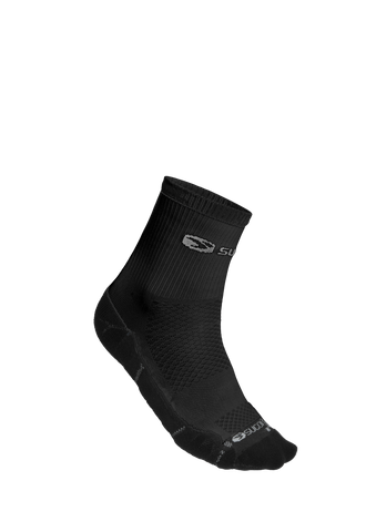 SUGOI RSR Quarter Sock, Black (94989U)